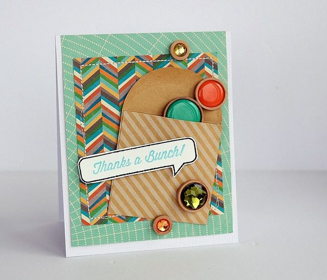 Thanks a bunch card by Sarah Webb
