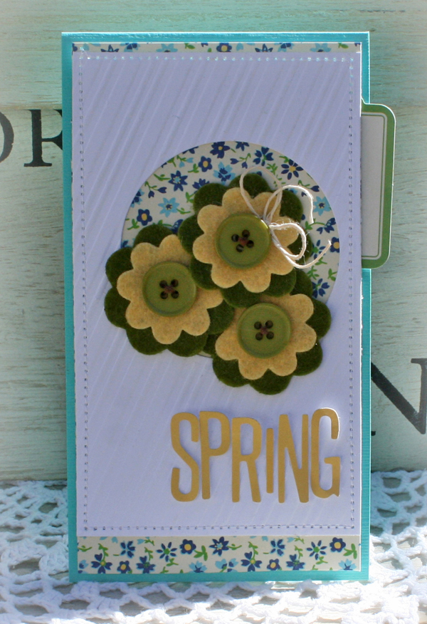 April spring card danni reid