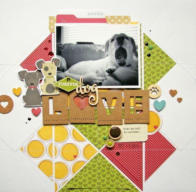 Nicole-Furever dog love