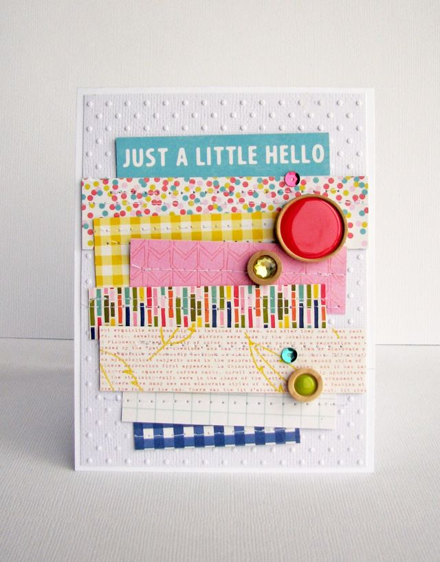 Card-Nicole-Just A Little Hello