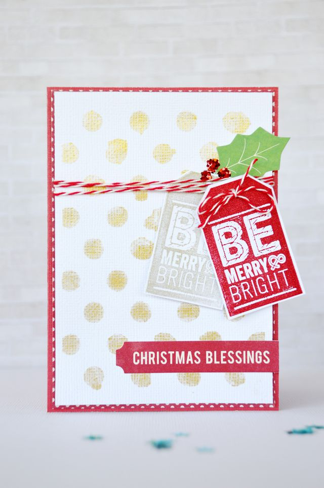 Jillibean Soup_Leanne Allinson_card_Christmas Blessings