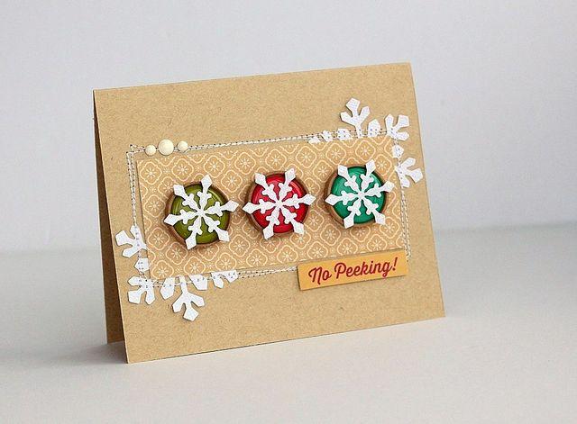 No peeking card by Sarah Webb