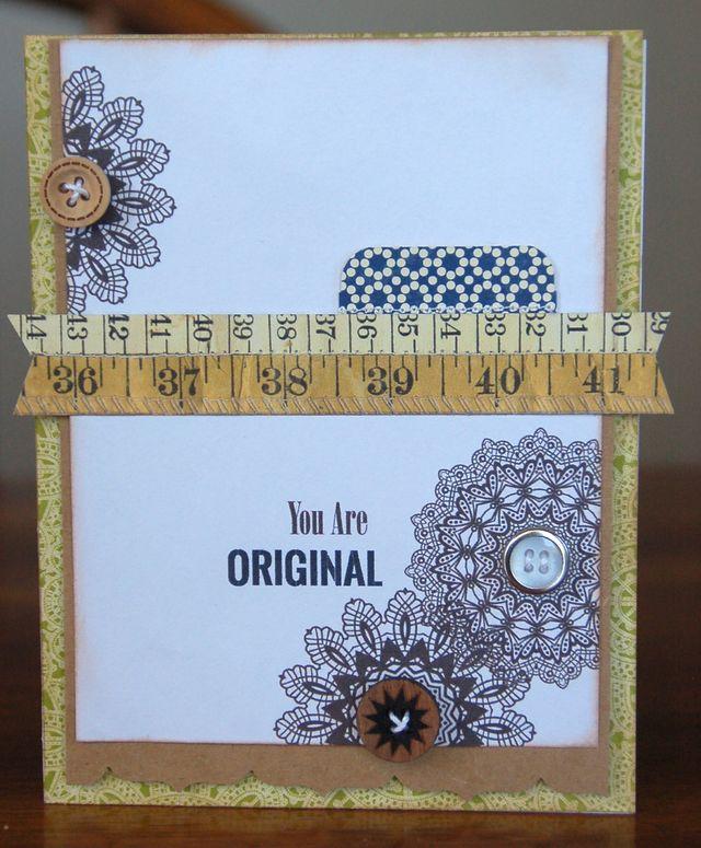 Card-Kimber-You Are Original
