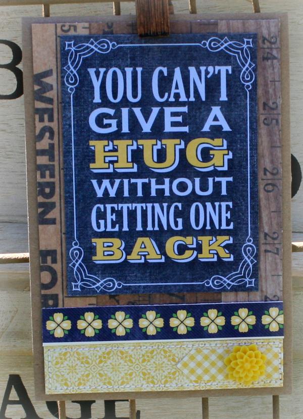 Give a hug danni reid