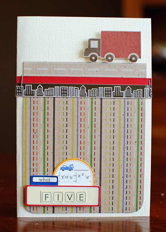 Card-kima you are five (card) (1 of 3)