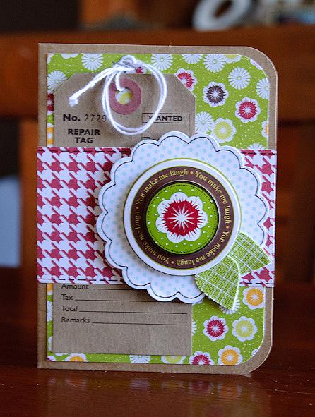 Card-kima you make me laugh (1 of 2)