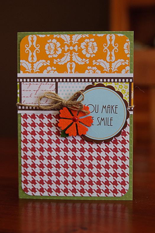 Card-kima you make me smile card (1 of 2)