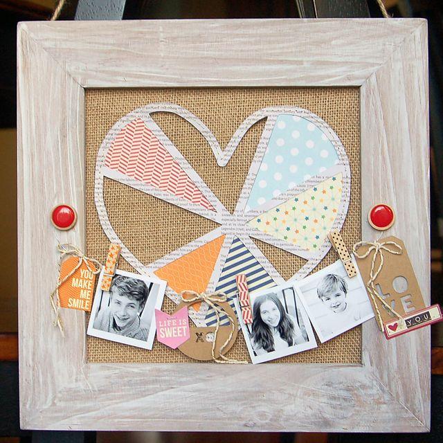 Amy-Burlap Frame