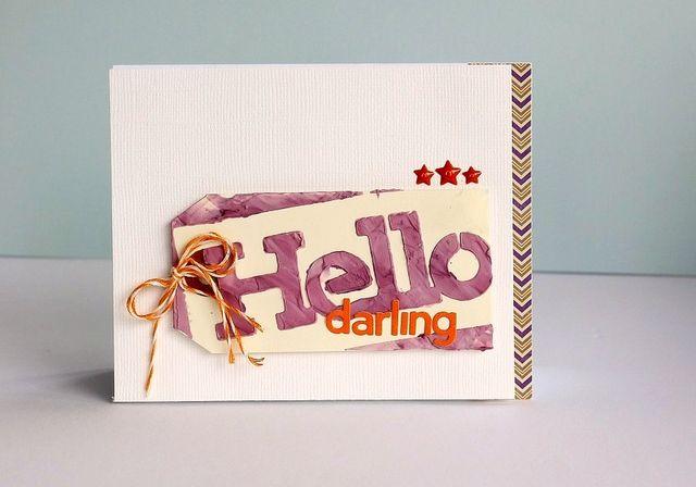 Card-Sarah-Hello Darling