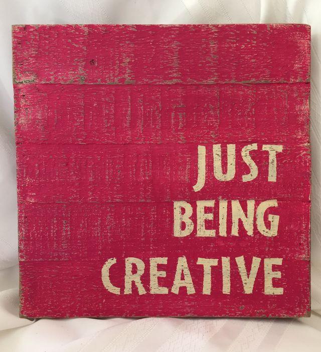 Kristine-Just Being Creative