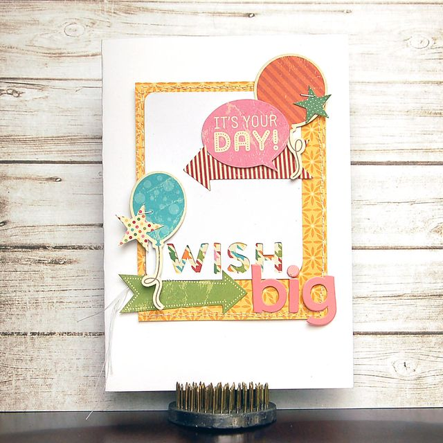 Card-Its Your Day Wish Big-Amy Coose