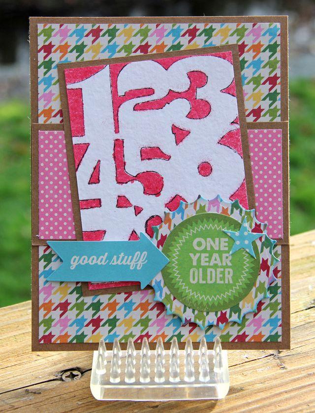 Card-One Year Older-Kim