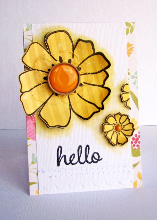 Nicole-Hello card