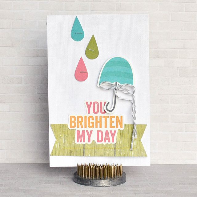 You Brighten My Day Card-Amy