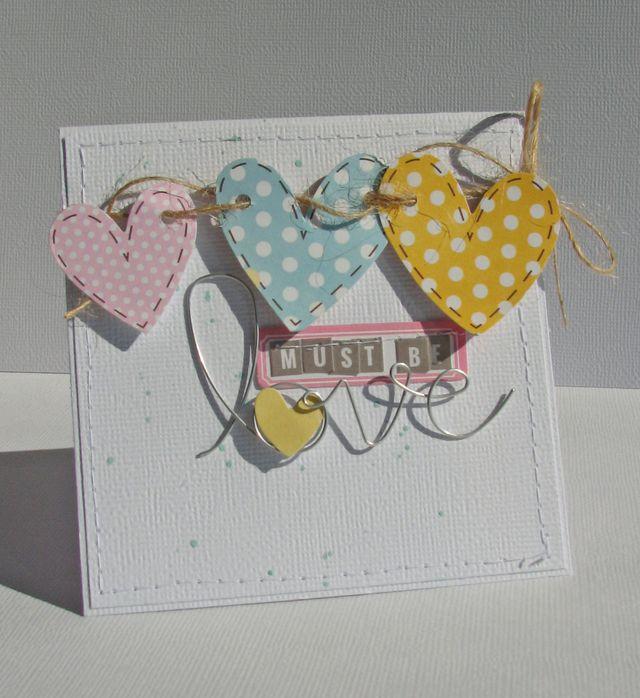 Nicole-Must be love card