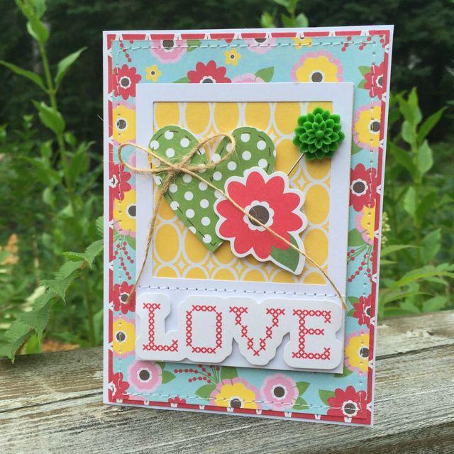 Stitched Love _ Kristine Davidson