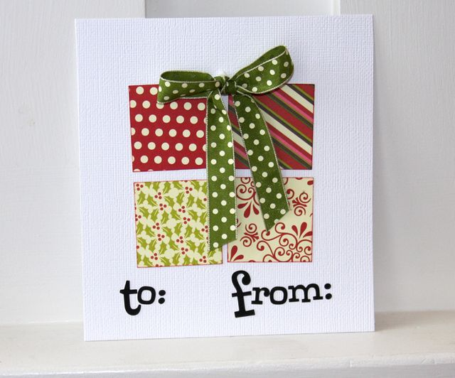 Card-shannon Gift Tag Present