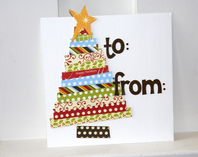 Card-shannon Gift Tag Tree