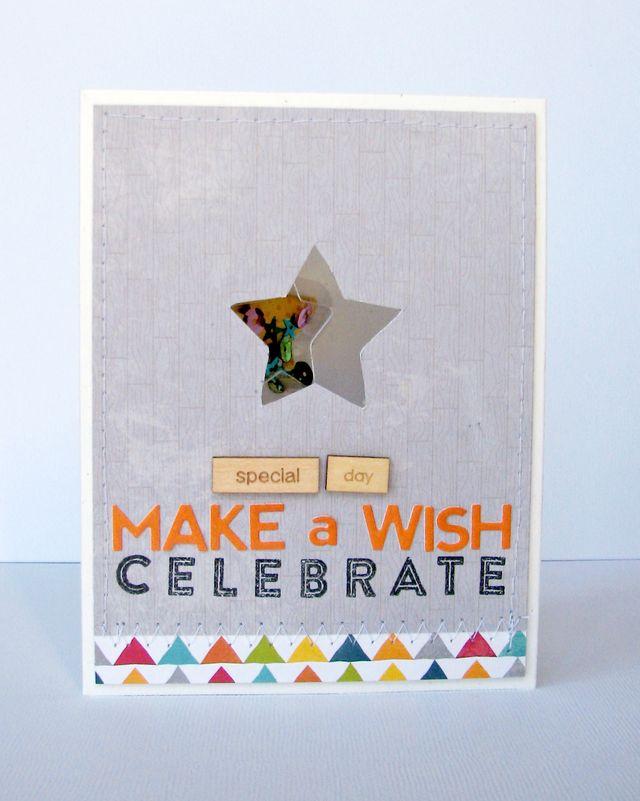 Nicole-make a wish card