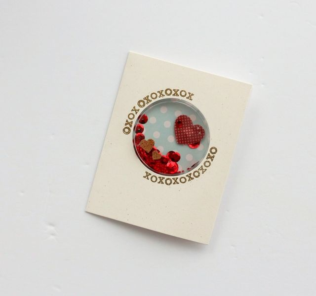 XOXO card by Sarah Webb-001