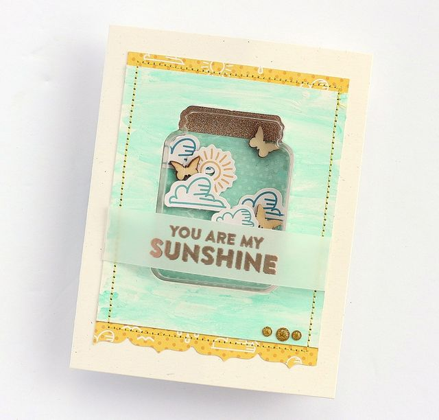 You are my sunshine card by Sarah Webb-001