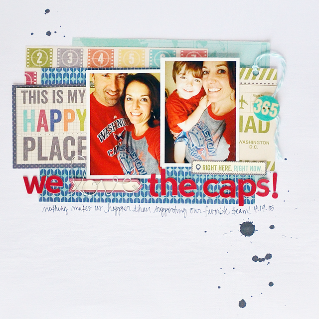 Amy-Layout-We Love the Caps