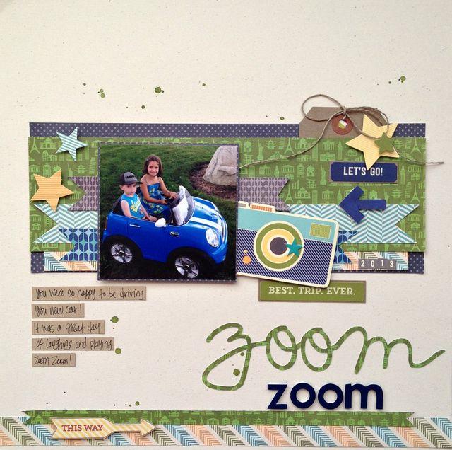 Zoom Zoom - Kristine Davidson