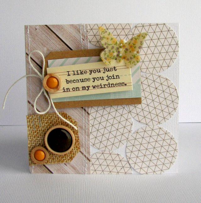 Nicole-i like you card