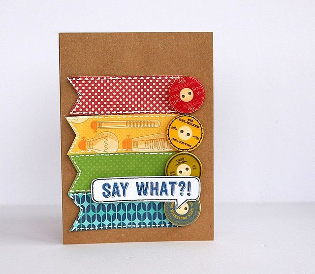 Say What Card by Sarah Webb