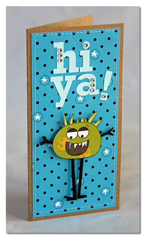 Card-summer hi-ya-card