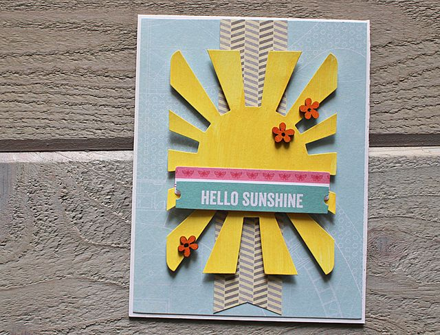 Hello Sunshine Card-Kimberly Crawford