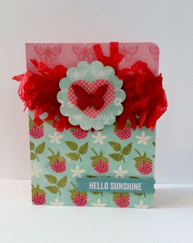 Hello Sunshine Party Card Pfolchert