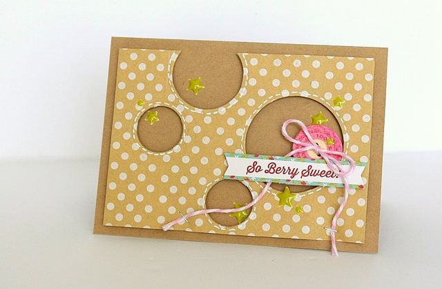 So Berry Sweet card by Sarah Webb
