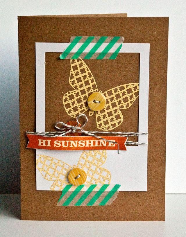Val Hi Sunshin Card Nov 2013